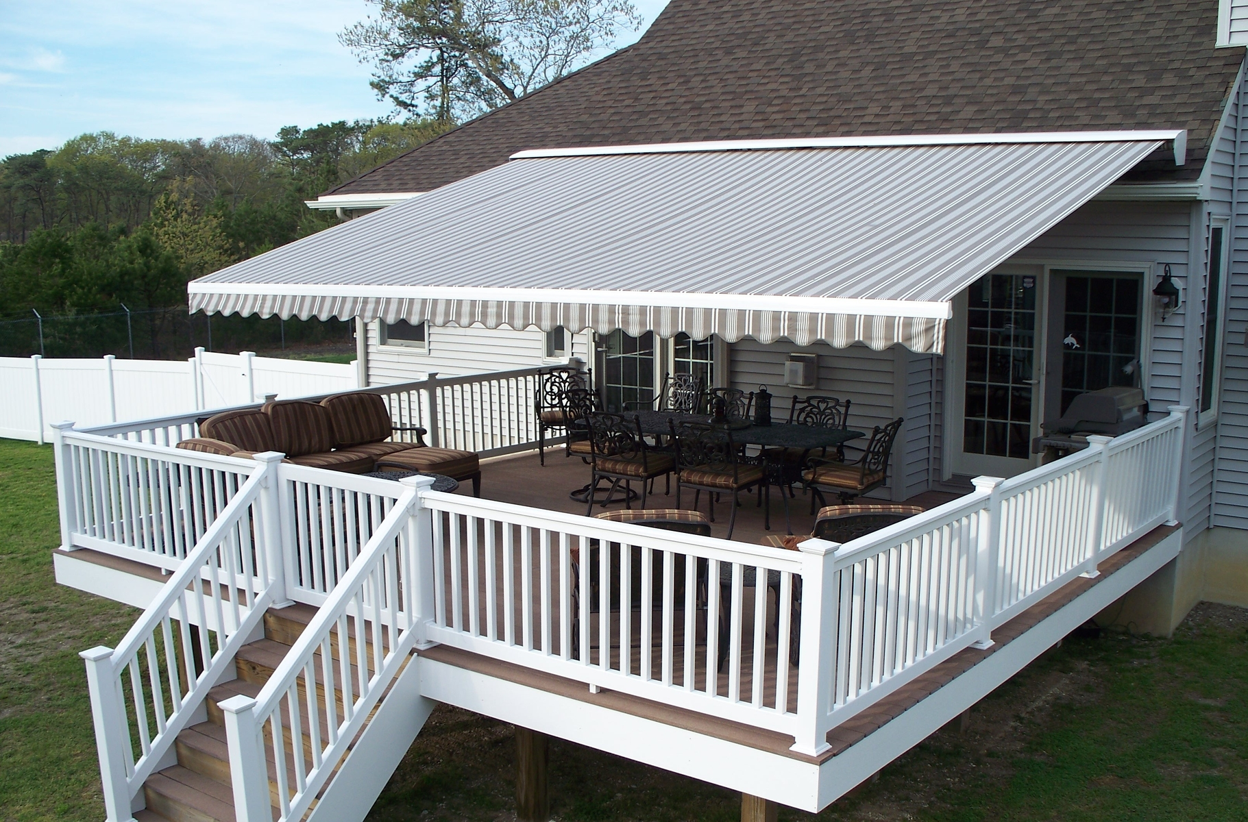 raleigh projected awning awnings metals residential